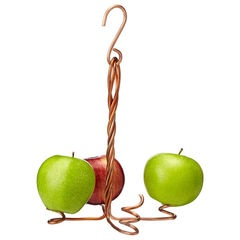 Make copper apple holder for birds with old electrical wire! - eclectic bird feeders by UncommonGoods