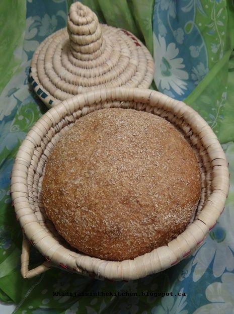 PAIN AU SON DE BLÉ / WHEAT BRAN BREAD / PAN CON SALVADO DE TRIGO / خبز بالنخالة