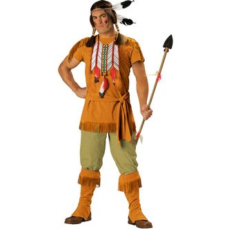 Deluxe Native American Red Indian Costume