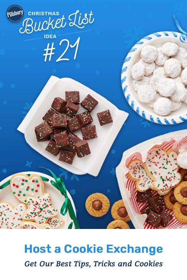 How To Host A Cookie Exchange Pillsbury Christmas Bucket List