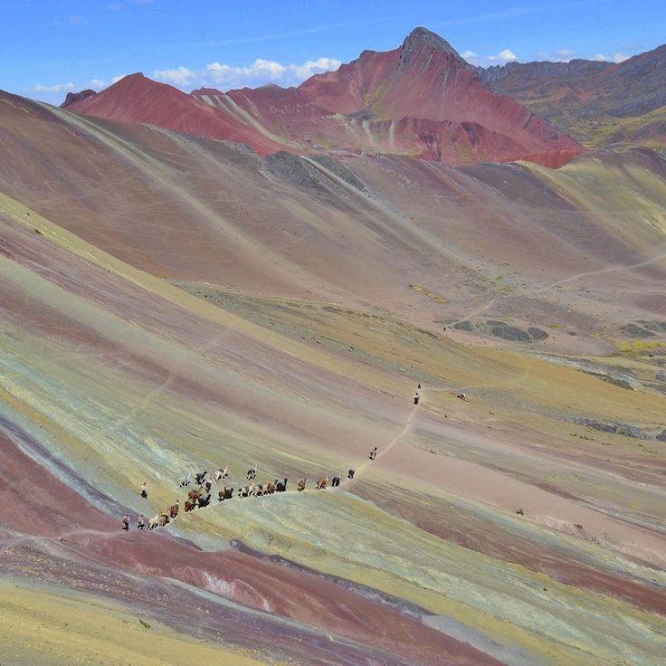 Радужный трекинг в окрестностях Куско. Перу