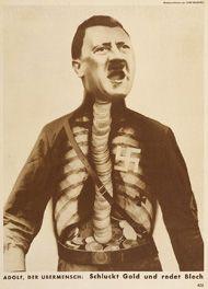 Adolf, Superman / Heartfield