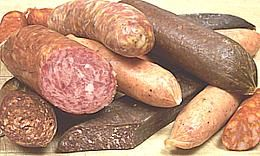 All kinds of information about sausage