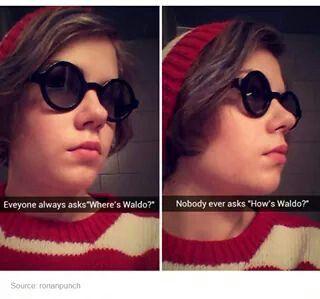 Emo Waldo.