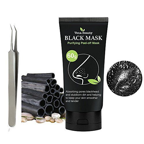 Black Peel off Mask Blackhead Remover Tool- Vena Beauty Activated Charcoal Blackhead Remover Mask Purifying Deep Cleansing Facial Black Mask, Deep Pore Cleanse for Acne, Oil Control,60gram. For product & price info go to:  https://beautyworld.today/products/black-peel-off-mask-blackhead-remover-tool-vena-beauty-activated-charcoal-blackhead-remover-mask-purifying-deep-cleansing-facial-black-mask-deep-pore-cleanse-for-acne-oil-control60gram-2/