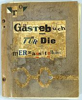 VisiTors' Book OF The mERz ExhibitioN in Hildesheim, 1922