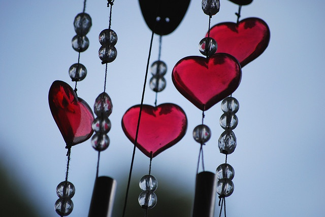 Day 2/365: Hearts in the Wind by Fervent Photographer, via FlickrWindchimes