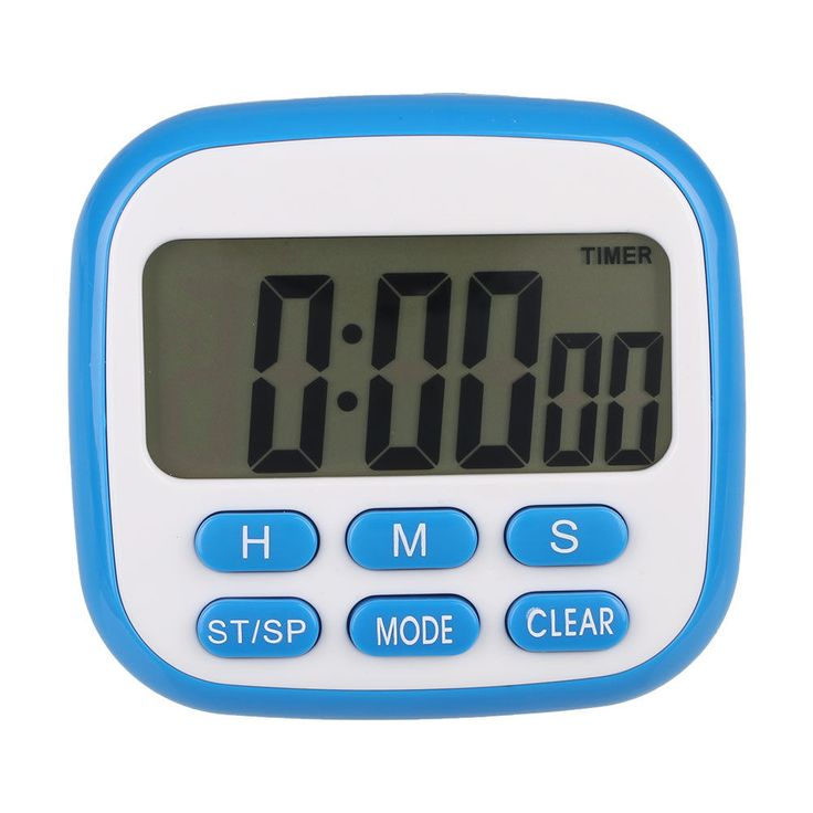Digital Kitchen Lcd Count Up Down Cooking Fitness Timer Clock Stopwatch