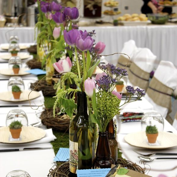 Eco-Friendly Teacher Appreciation Luncheon • Taste With The Eyes • where the image is meant to titillate and inspire the cook