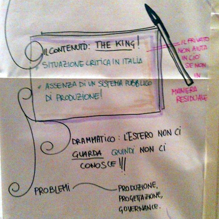 Estratti di visual storytelling: content is the king