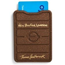 Heatherwick Studio's Oyster card holder for Transport for London taking inspiration from the New Routemaster, which launched in early 2012.
