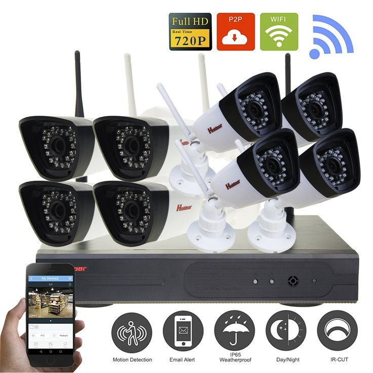 (285.00$)  Watch here - http://aiwzy.worlditems.win/all/product.php?id=32800711613 - 1.0MP Wireless Security Camera System Full HD Wifi IP Camera Surveillance Kit 720P indoor  P2P IR Camera System 8CH Wifi NVR Kit