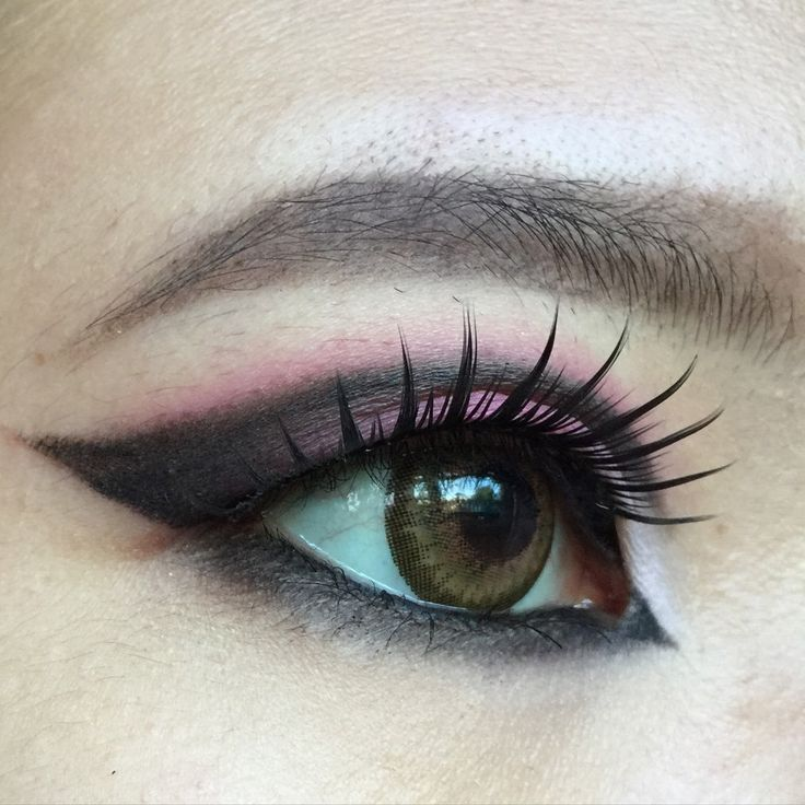Cut crease/ makeup/asian/monolid