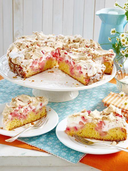So muss Rhabarberkuchen schmecken!