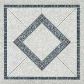 Style Selections 12 In X 12 In Twilight Blue Peel And