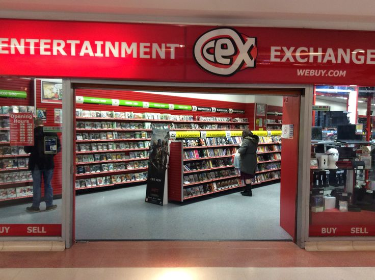 CEX: A massive range of secondhand media and electronics and you can pay in BTC