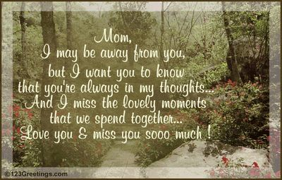 missing you mom images   Still missing you... Love you Mom!