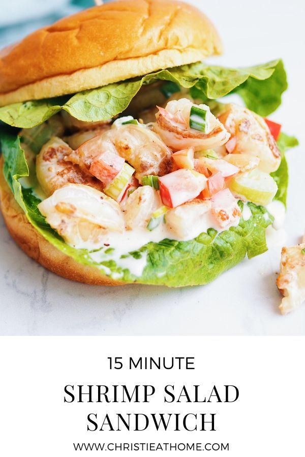 Shrimp Salad Sandwich 15 Minute Recipe Christie At Home Recipe Sandwiches Shrimp Salad Recipes