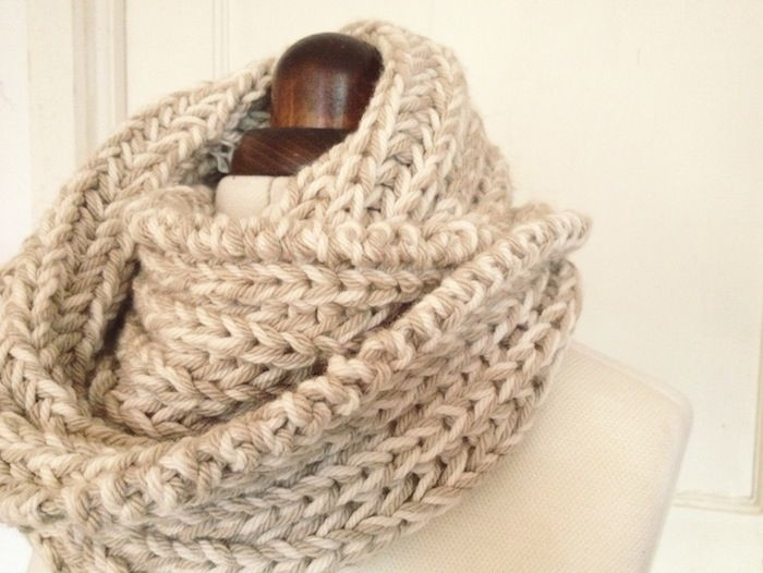 simple snoods - By Hand London - free cowl knitting patterns