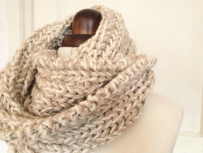 english rib snood - by hand london - free knitting pattern Crafty :: Cowls ...