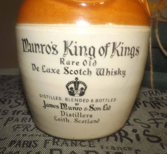 Vintage c.late 1960s James Munro & Sons King of Kings Rare