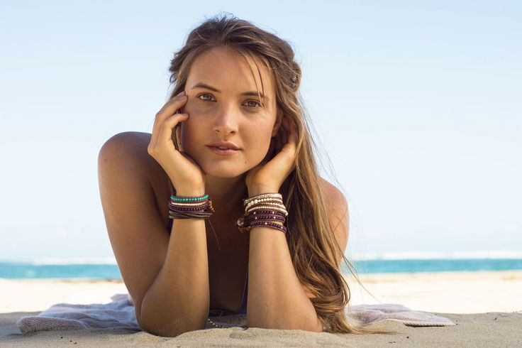 Luxurious Wrap Bracelets for the Beach!  Shop online with us.
