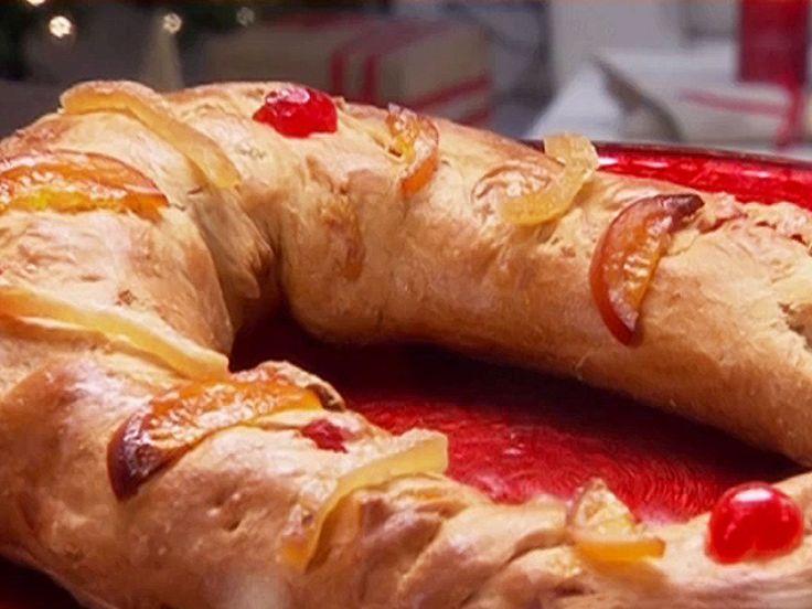 Three Kings Bread: Rosca de Reyes recipe from Ingrid Hoffmann via Food Network