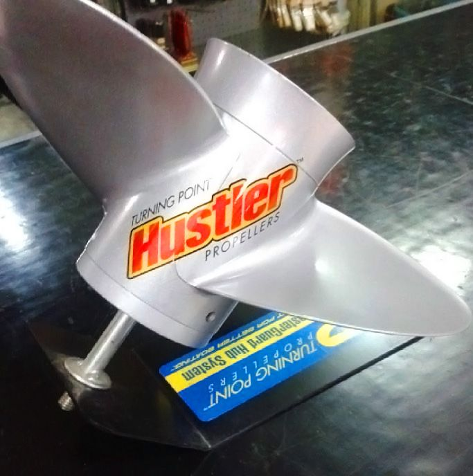 Hustler propellers by #turningpoint