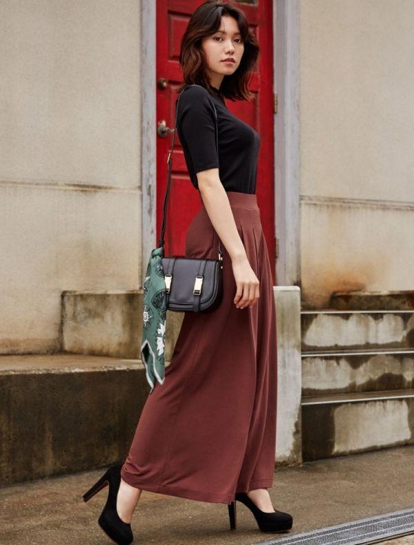 二階堂ふみがハンサムに着こなす、秋の絶品スカート&スカンツ|Today's Pick Up|ユニクロ