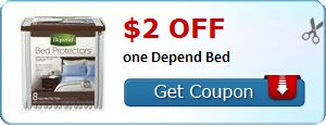 New Coupon!  $2.00 off one Depend Bed - http://www.stacyssavings.com/new-coupon-2-00-off-one-depend-bed/