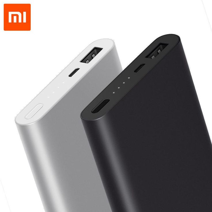 10000mAh Xiaomi Mi Power Bank 2 Quick Charge External Battery Supports 18W Fast Charging For Android and IOS Mobile Phones