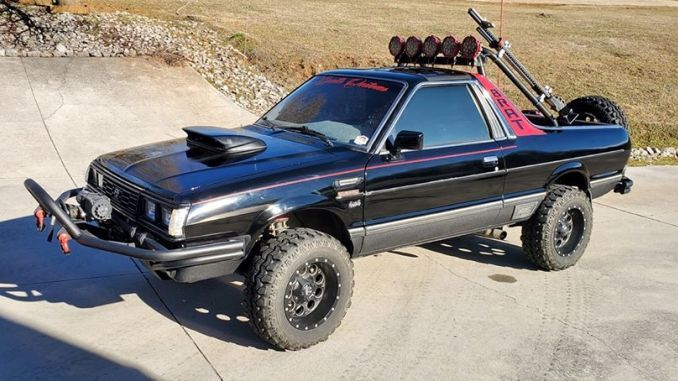 1984 Gl Automatic In Madisonville Tn In 2020 Subaru Monster Trucks Automatic