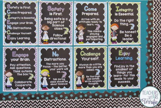 STEM and Science bulletin board tutorial! Lots of photos!