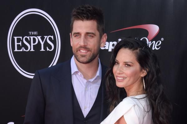 """Green Bay Packers quarterback Aaron Rodgers and """"X-Men: Apocalypse"""" star Olivia Munn reportedly broke up after three years of dating."""