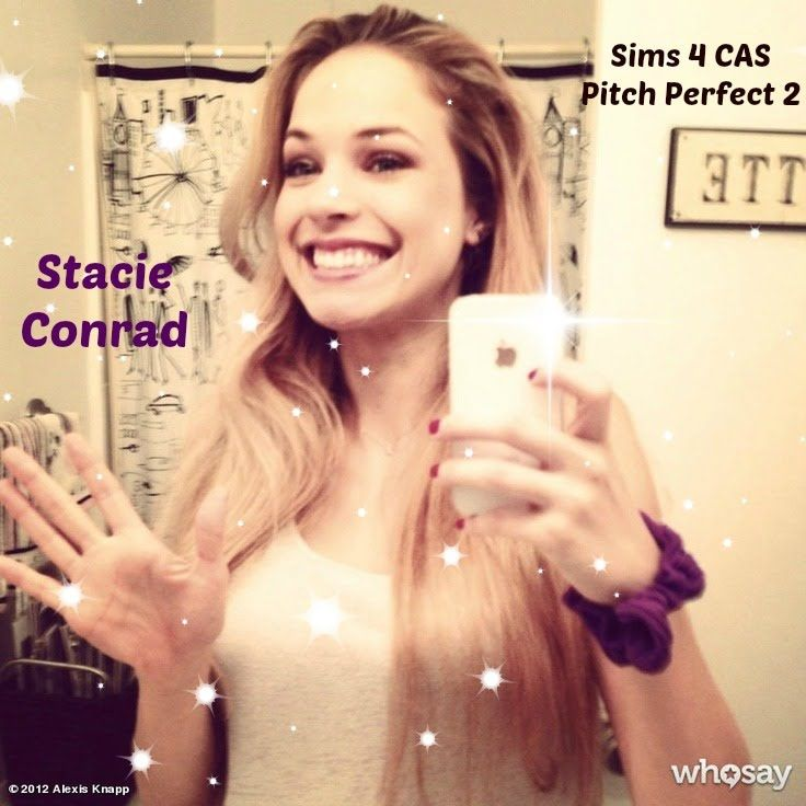 Sims 4 CAS Pitch Perfect 2 Stacie Conrad