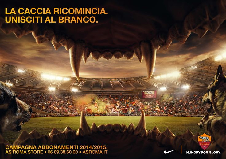 Campaign: AS Roma 2014-2015 -Agency:Publicis Italy -Client: AS Roma