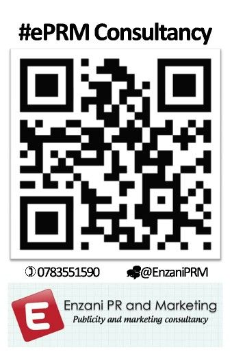 #ePRM Facebook referral QR code