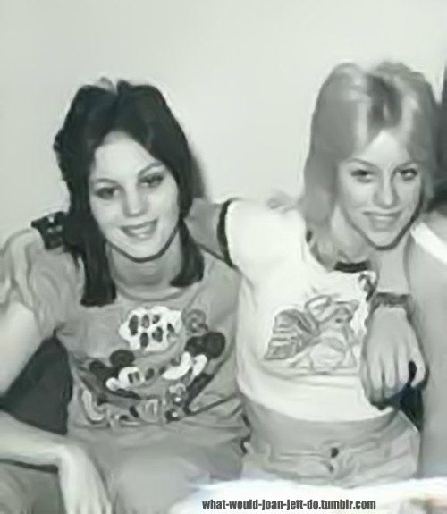 joan jett and cherie currie relationship