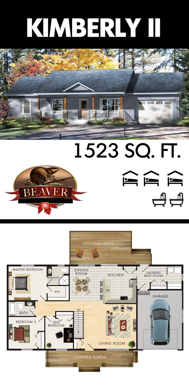 104 best Beaver Homes and Cottages images on Pinterest   Floor plans ...