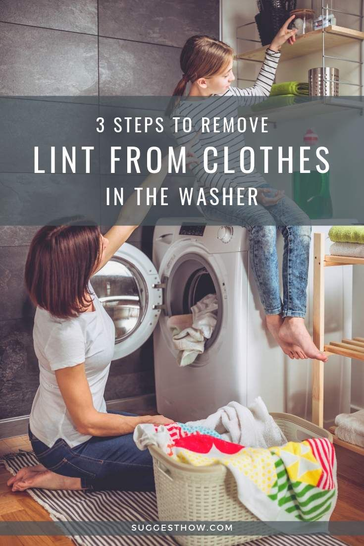 How To Get Lint Off Clothes With A Dryer Sheet