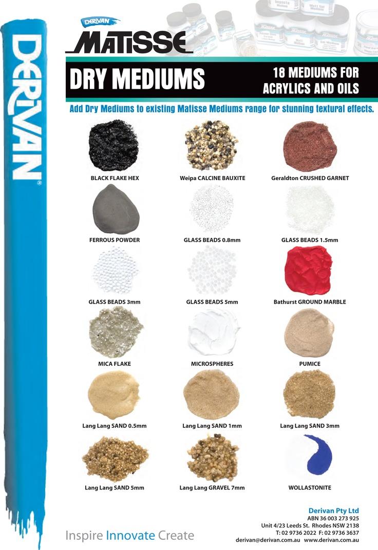 Matisse Dry Mediums