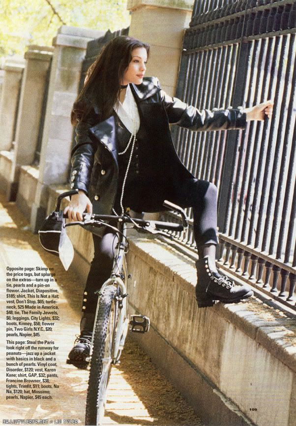 Liv tyler is noble n elegant n sophisticated but Theres completely different side also She is wild n crazy n bold n naked  It attracts me so much