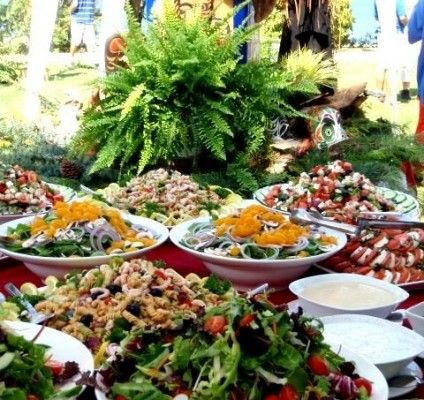 Food ideas for a great #corporateevent #summerparty #corporatepicnic #outdoorevents