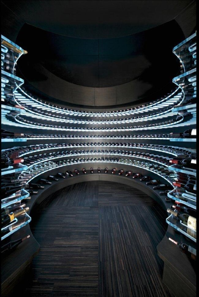 Wine Cellar... Not sure I would ever leave home!!