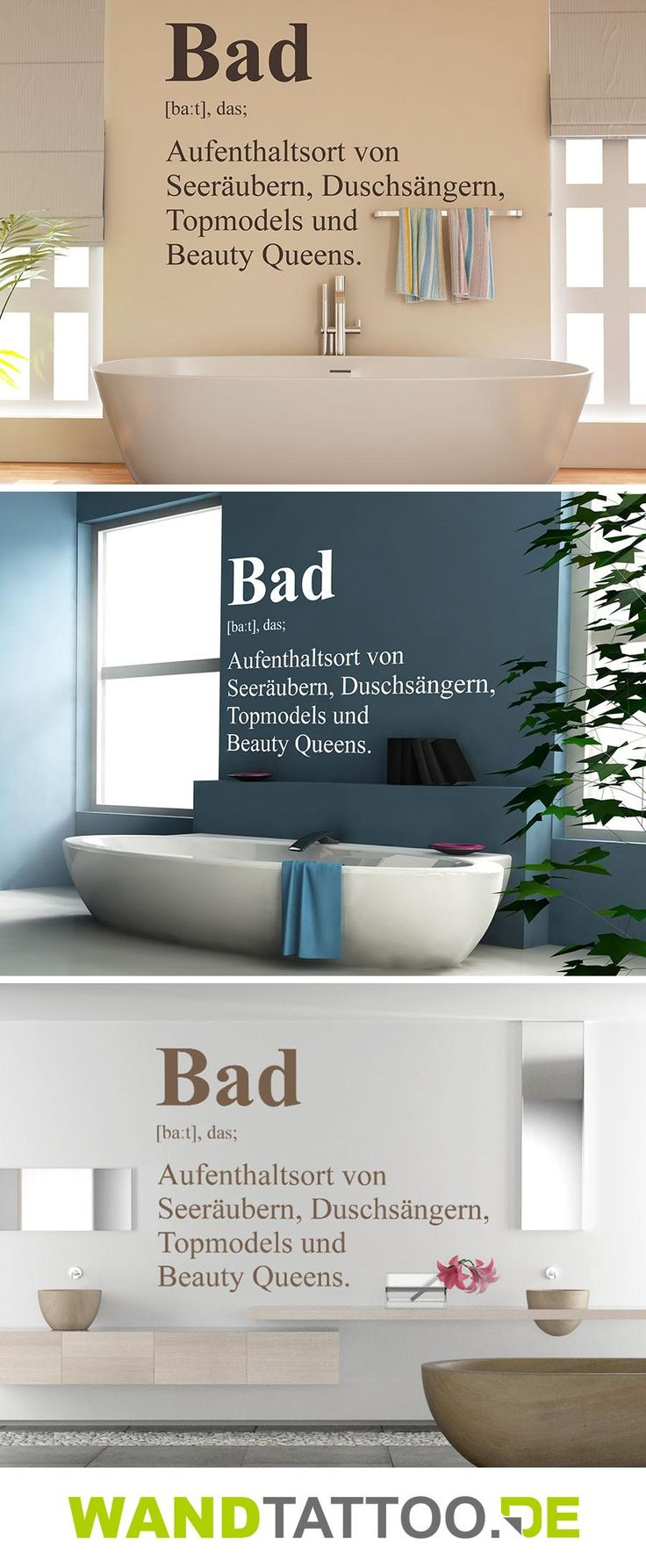 bad definition 2 selbst machen bad wandtattoo bad und badezimmer. Black Bedroom Furniture Sets. Home Design Ideas