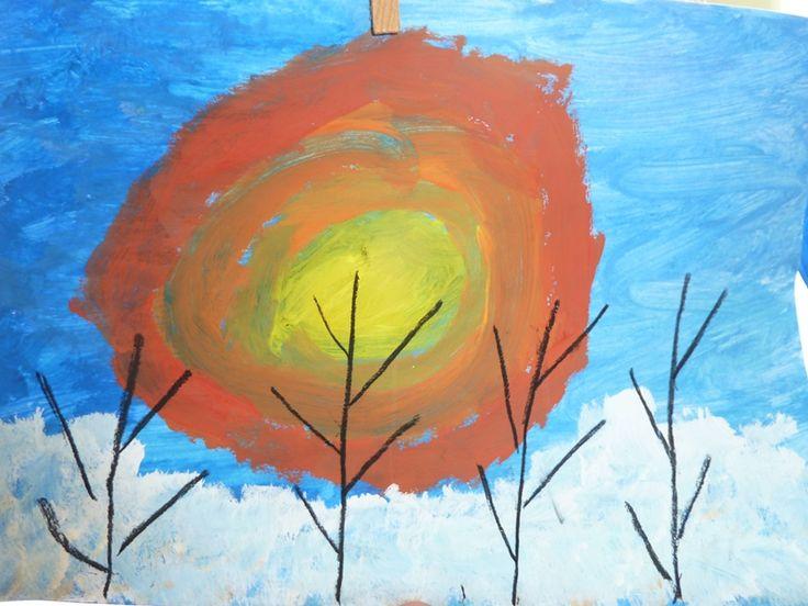 slunce v zimě