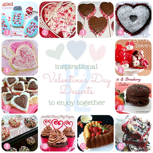 12 Valentine's Day Desserts: 12 Valentinesday, Sweet2Eat Baking, Desserts Photo, Holidays Food, Valentines Yummy, Valentinesday Desserts Recipe, Valentines Day, Valentines Desserts, Desserts Valentinesday