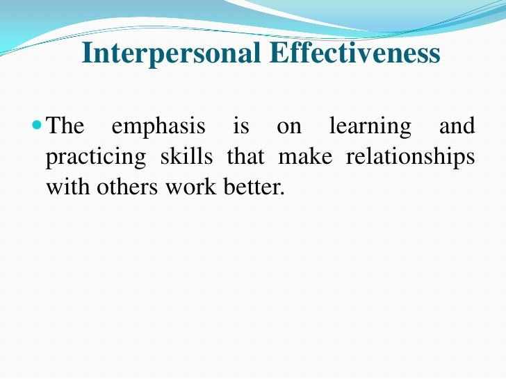 Interpersonal communication in relationships essay