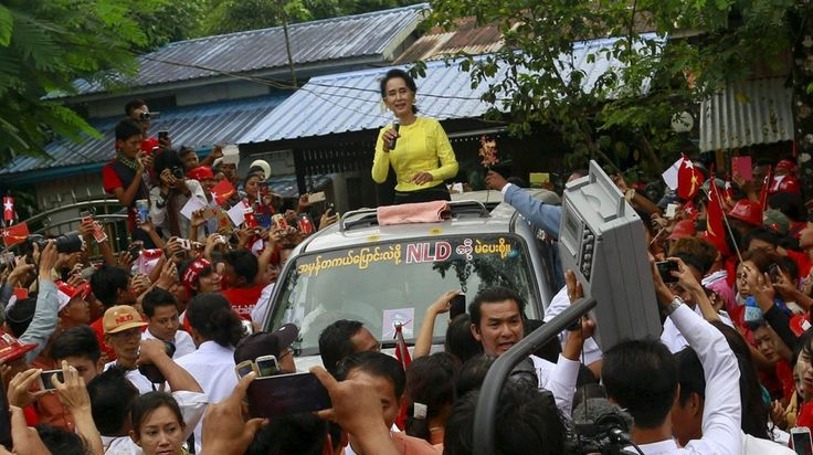 "Nobel laureate Aung San Suu Kyi ""purged"" opposition of Muslims ahead of election, senior party member tells Al Jazeera."