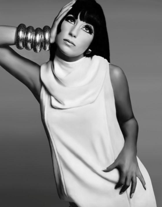 Cher, by Richard Avedon